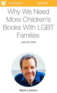 Why We Need More Children's Books with LGBT Families