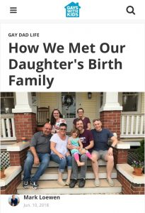 How We Met Our Daughter's Birth Family
