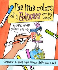 The True Colors of a Princess Book Cover